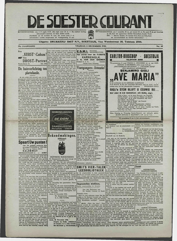 Soester Courant 1940-11-06