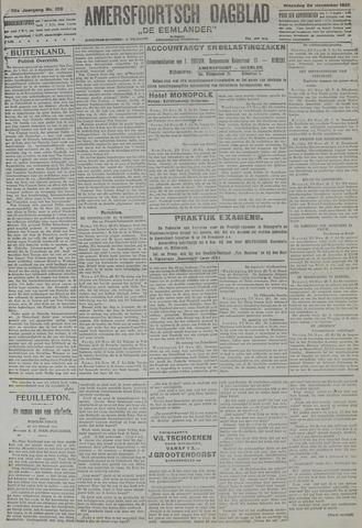 Amersfoortsch Dagblad / De Eemlander 1921-11-28