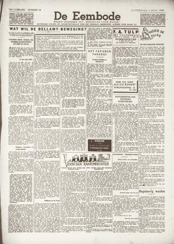 De Eembode 1938-07-02