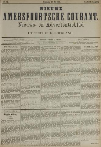 Nieuwe Amersfoortsche Courant 1885-05-27