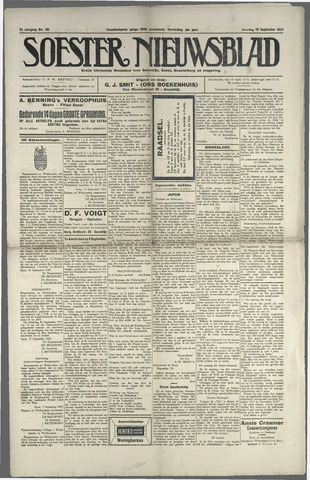 Soester Courant 1923-09-15