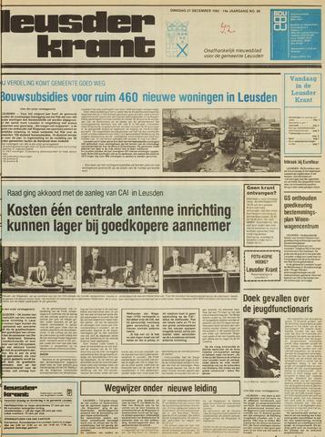 Leusder Krant 1982-12-21