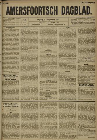 Amersfoortsch Dagblad 1911-08-04