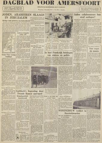 Dagblad voor Amersfoort 1947-12-03