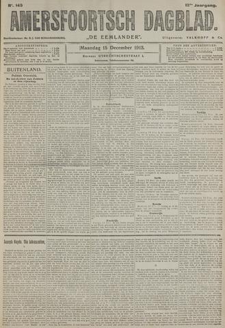 Amersfoortsch Dagblad / De Eemlander 1913-12-15