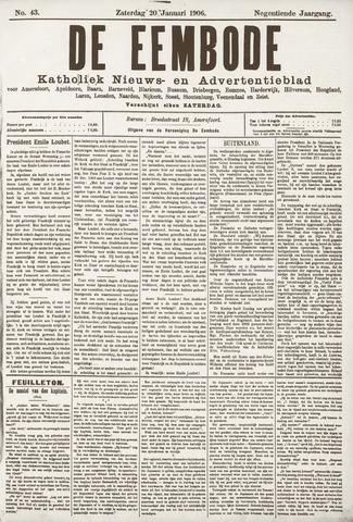 De Eembode 1906-01-20