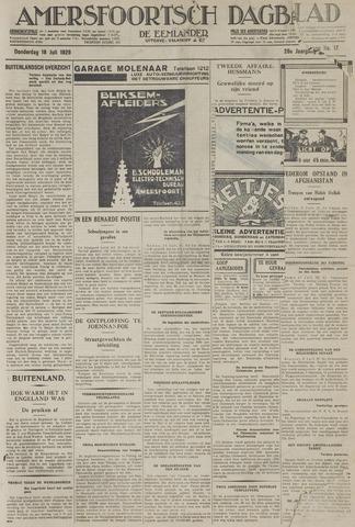 Amersfoortsch Dagblad / De Eemlander 1929-07-18