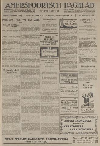 Amersfoortsch Dagblad / De Eemlander 1933-12-23