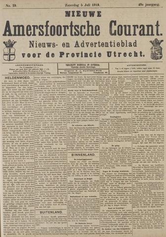 Nieuwe Amersfoortsche Courant 1919-07-05