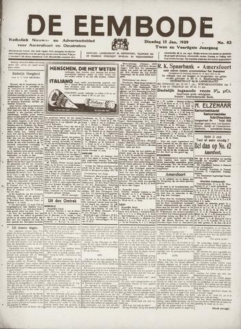 De Eembode 1929-01-15
