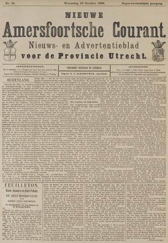 Nieuwe Amersfoortsche Courant 1900-10-10