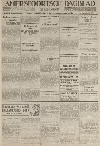 Amersfoortsch Dagblad / De Eemlander 1931-12-28