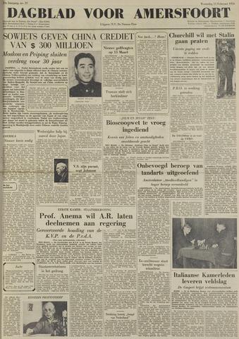 Dagblad voor Amersfoort 1950-02-15