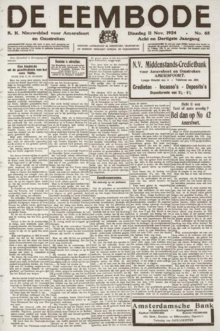 De Eembode 1924-11-11
