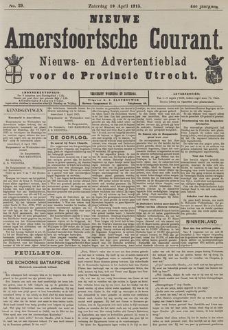 Nieuwe Amersfoortsche Courant 1915-04-10