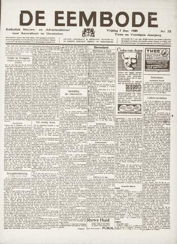 De Eembode 1928-12-07
