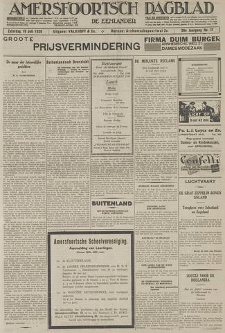 Amersfoortsch Dagblad / De Eemlander 1930-07-19