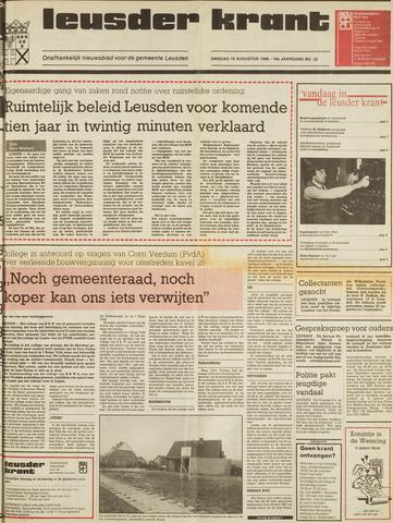 Leusder Krant 1986-08-19