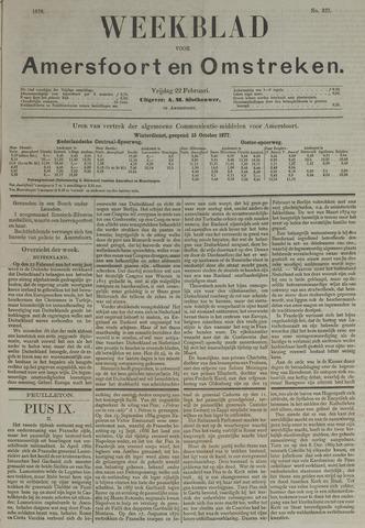 Weekblad voor Amersfoort en Omstreken 1878-02-22