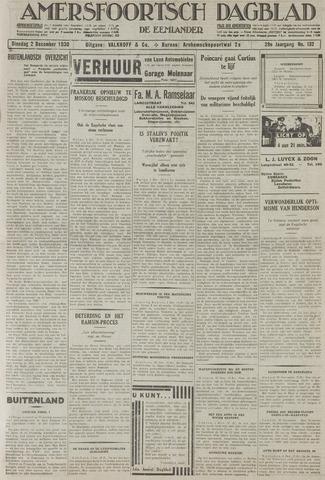 Amersfoortsch Dagblad / De Eemlander 1930-12-02