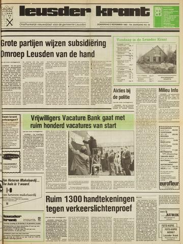 Leusder Krant 1983-11-03