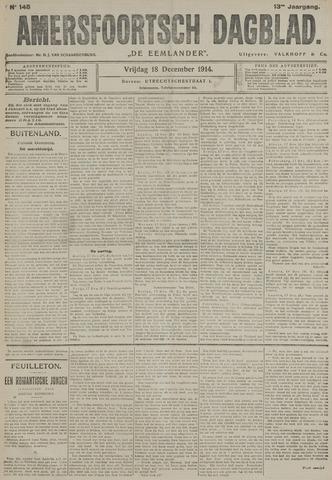 Amersfoortsch Dagblad / De Eemlander 1914-12-18
