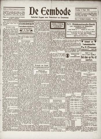 De Eembode 1932-09-13