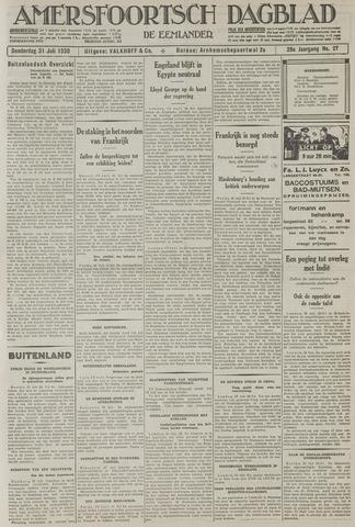 Amersfoortsch Dagblad / De Eemlander 1930-07-31