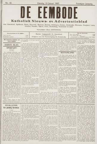 De Eembode 1907-01-19