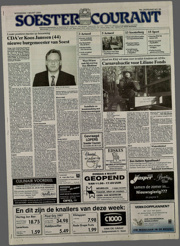 Soester Courant 2000-03-01