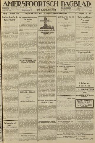 Amersfoortsch Dagblad / De Eemlander 1932-10-21