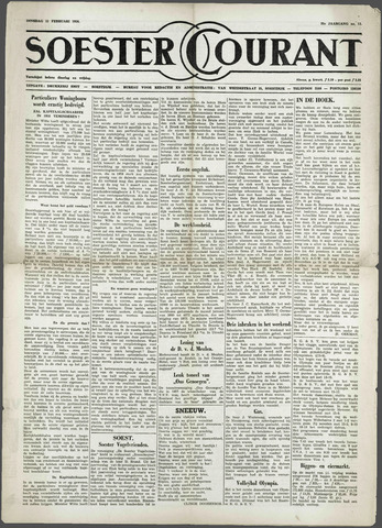 Soester Courant 1958-02-11