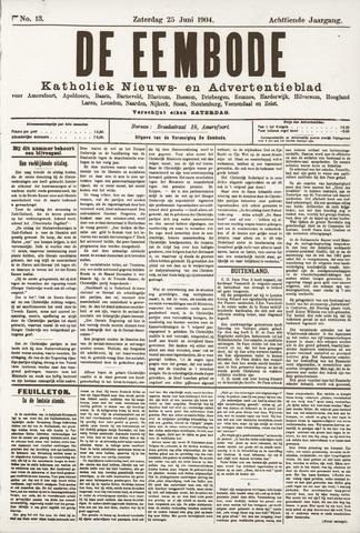 De Eembode 1904-06-25