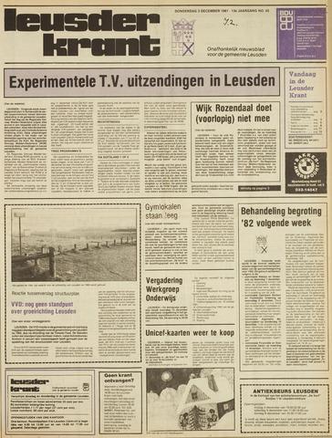 Leusder Krant 1981-12-03