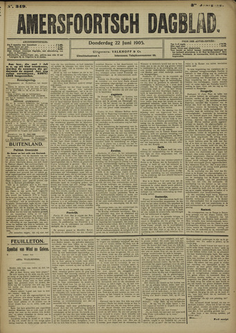 Amersfoortsch Dagblad 1905-06-22