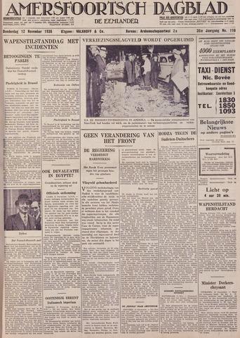Amersfoortsch Dagblad / De Eemlander 1936-11-12