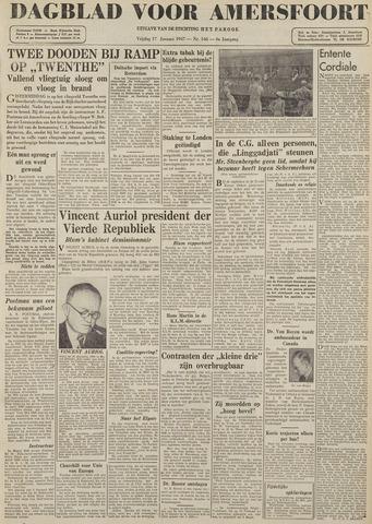 Dagblad voor Amersfoort 1947-01-17