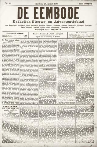 De Eembode 1898-01-29