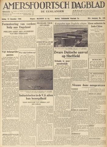Amersfoortsch Dagblad / De Eemlander 1940-12-13
