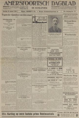 Amersfoortsch Dagblad / De Eemlander 1934-01-20