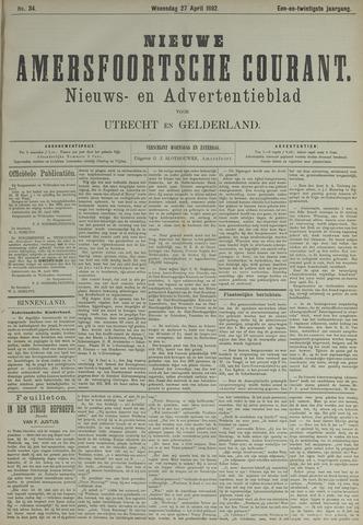 Nieuwe Amersfoortsche Courant 1892-04-27