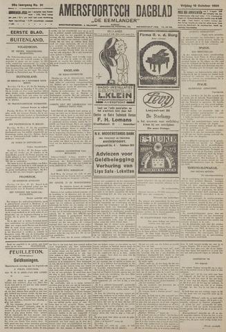 Amersfoortsch Dagblad / De Eemlander 1926-10-15