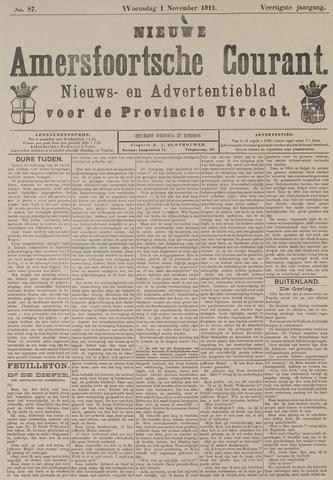 Nieuwe Amersfoortsche Courant 1911-11-01