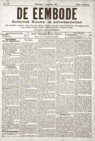 De Eembode 1891-08-01