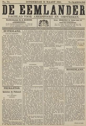De Eemlander 1910-03-31