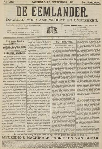 De Eemlander 1911-09-23