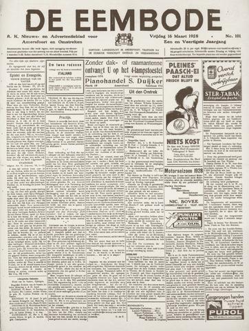 De Eembode 1928-03-16