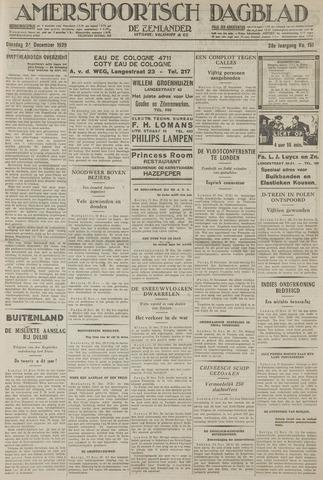 Amersfoortsch Dagblad / De Eemlander 1929-12-24