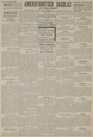 Amersfoortsch Dagblad / De Eemlander 1926-02-17
