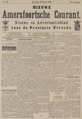 Nieuwe Amersfoortsche Courant 1913-03-22